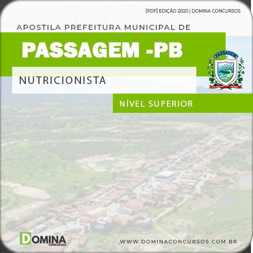 Apostila Concurso Passagem PB 2020 Nutricionista