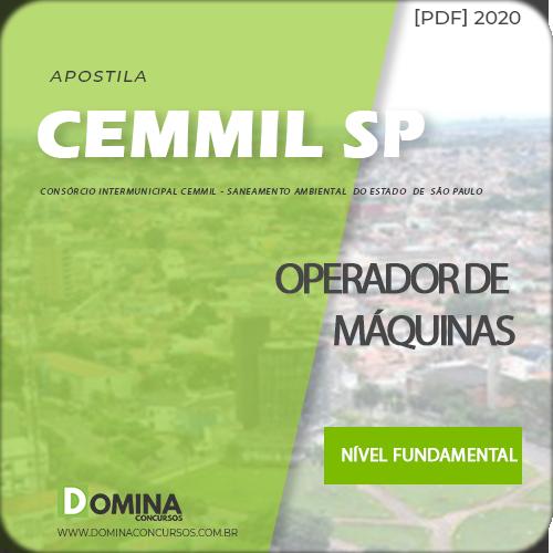 Apostila Cemmil Mogi Guaçu SP 2020 Operador de Máquinas