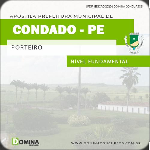 Apostila Concurso Câmara Condado PE 2020 Porteiro