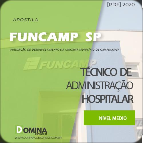 Apostila FUNCAMP 2020 Técnico de Administração Hospitalar