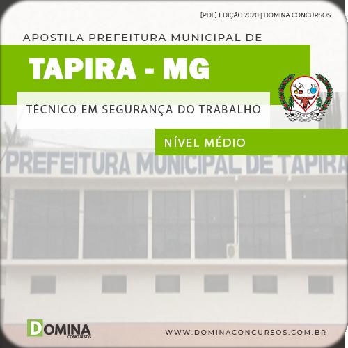 Apostila Pref Tapira MG 2020 Técnico em Segurança do Trabalho