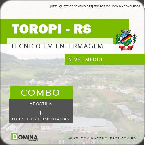 Apostila Concurso Castro PR 2020 Técnico em Enfermagem