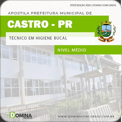 Apostila Concurso Castro PR 2020 Técnico em Higiene Bucal