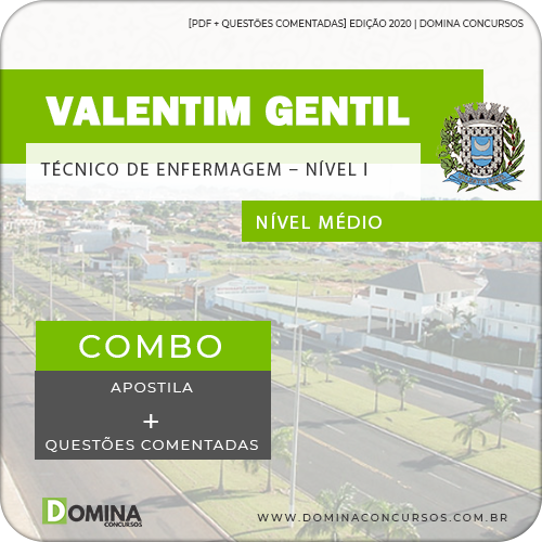 Apostila Valentim Gentil SP 2020 Técnico de Enfermagem