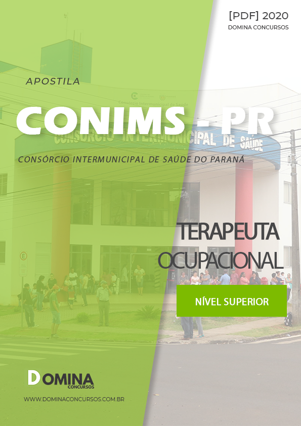 Apostila Pref Barra do Corda MA 2020 Terapeuta Ocupacional