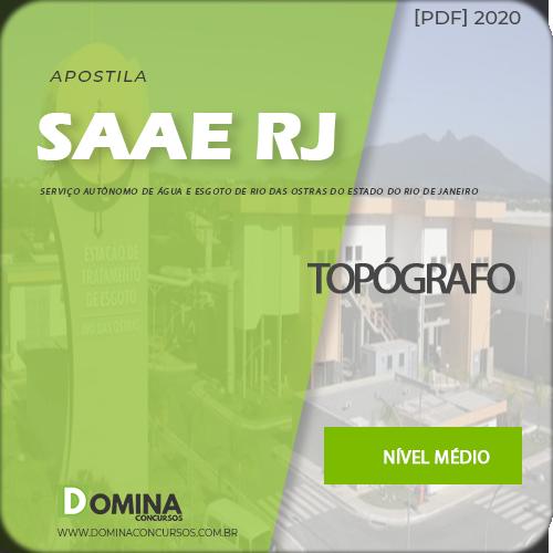 Apostila Cocurso SAAE Rio das Ostras RJ 2020 Topógrafo
