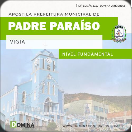 Apostila Concurso Prefeitura Passagem PB 2020 Vigia