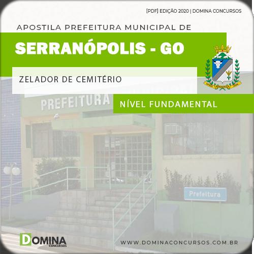 Apostila Serranópolis GO 2020 Zelador de Cemitério