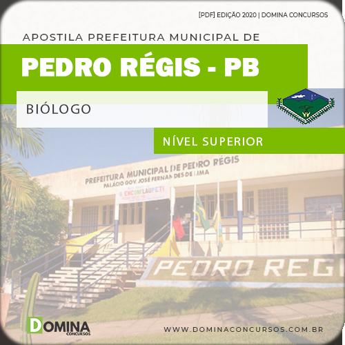 Apostila Concurso Pref Pedro Régis PB 2020 Biólogo