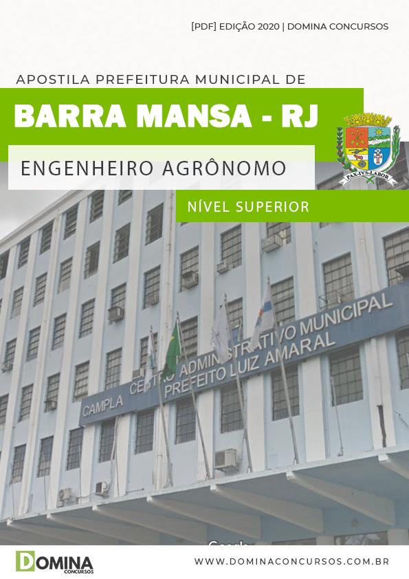 Apostila Barra Mansa RJ 2020 Engenheiro Agrônomo