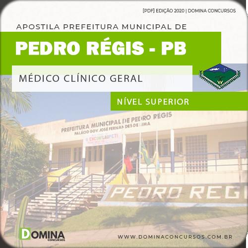 Apostila Concurso Pedro Régis PB 2020 Médico Clínico Geral