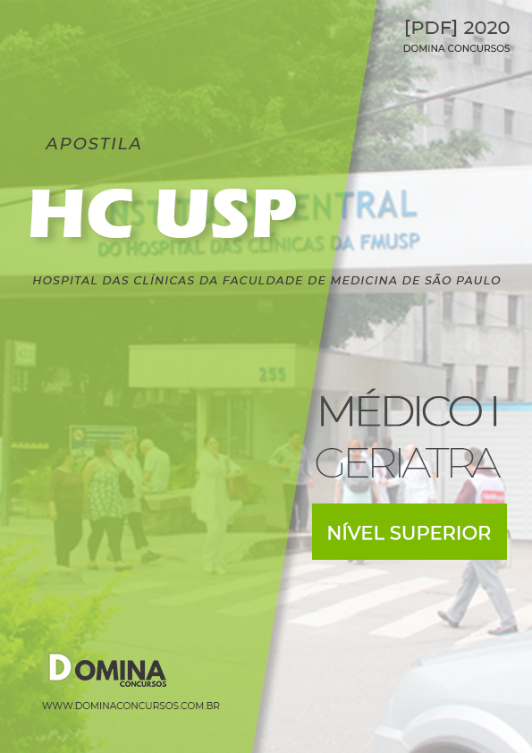 Apostila Concurso HC USP 2020 Médico I Geriatria