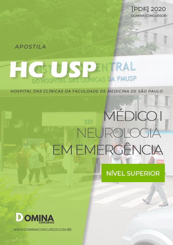 Apostila HC USP 2020 Médico I Neurologia em Emergência