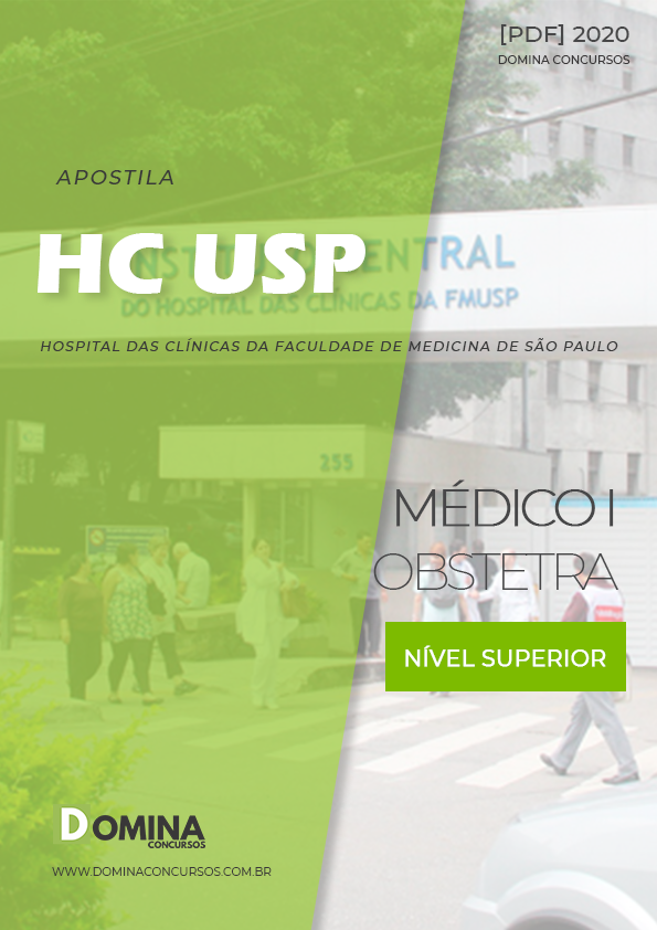 Apostila Concurso HC USP 2020 Médico I Obstetra