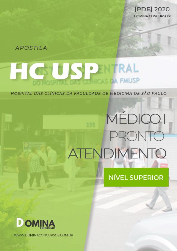 Apostila Concurso HC USP 2020 Médico I Pronto Atendimento