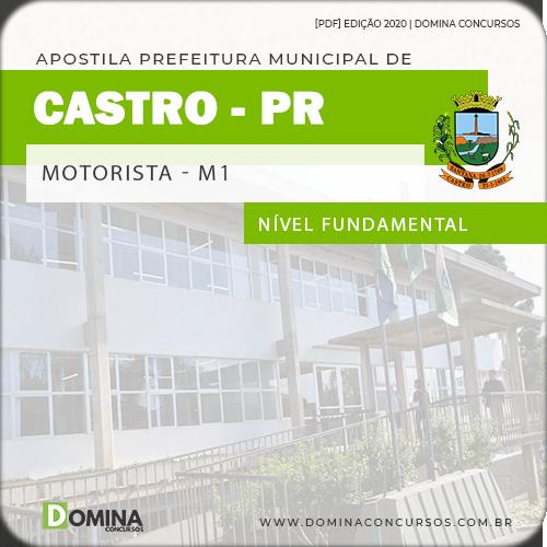 Apostila Pref Castro PR 2020 Motorista e Operador