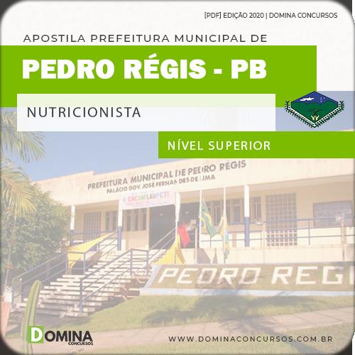Apostila Concurso Pref Pedro Régis PB 2020 Nutricionista