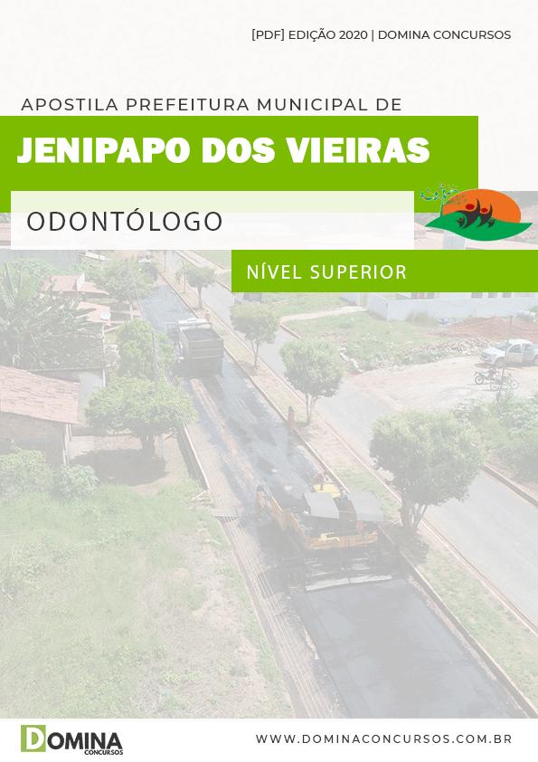 Apostila Pref Jenipapo Vieiras MA 2020 Odontólogo