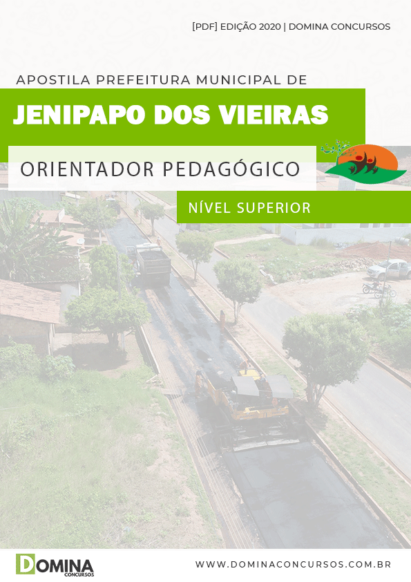 Apostila Pref Jenipapo Vieiras MA 2020 Orientador Pedagógico