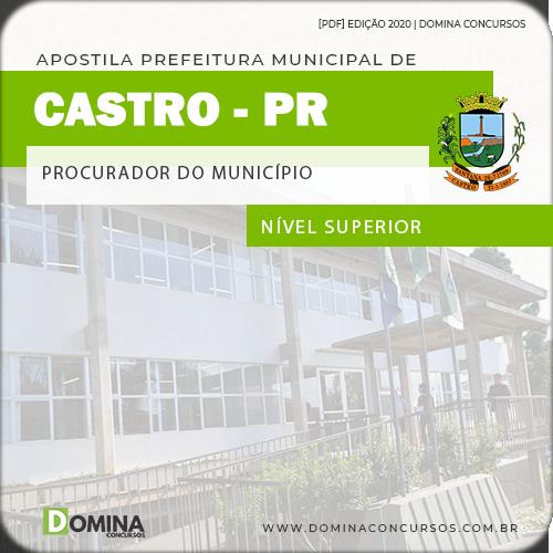 Apostila Pref Castro PR 2020 Procurador do Município
