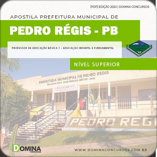 Apostila Pedro Régis PB 2020 Professor Educação Infantil