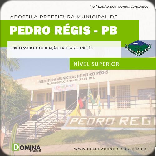 Apostila Pedro Régis PB 2020 Professor Fundamental Inglês