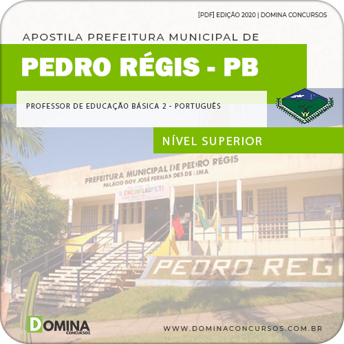 Apostila Pedro Régis PB 2020 Professor de Português
