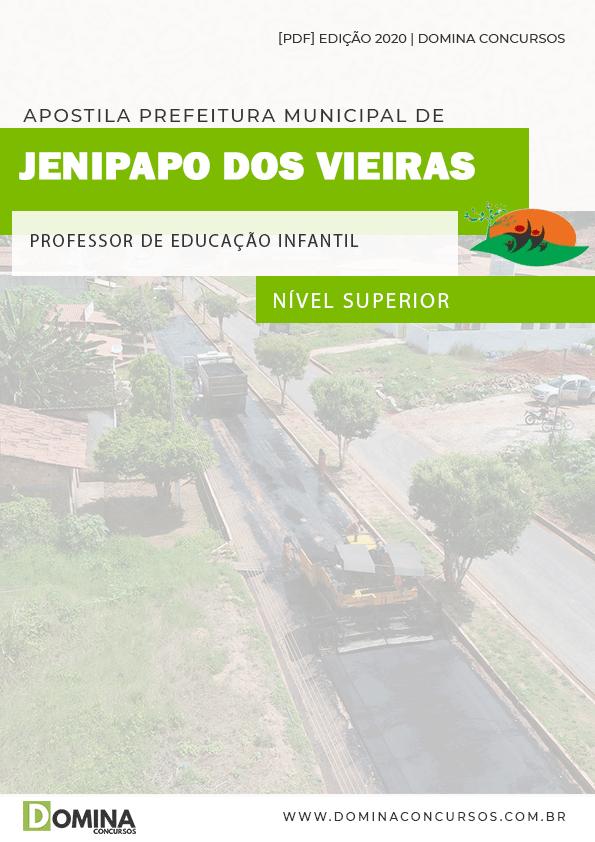 Apostila Pref Jenipapo Vieiras MA 2020 Prof Educação Infantil