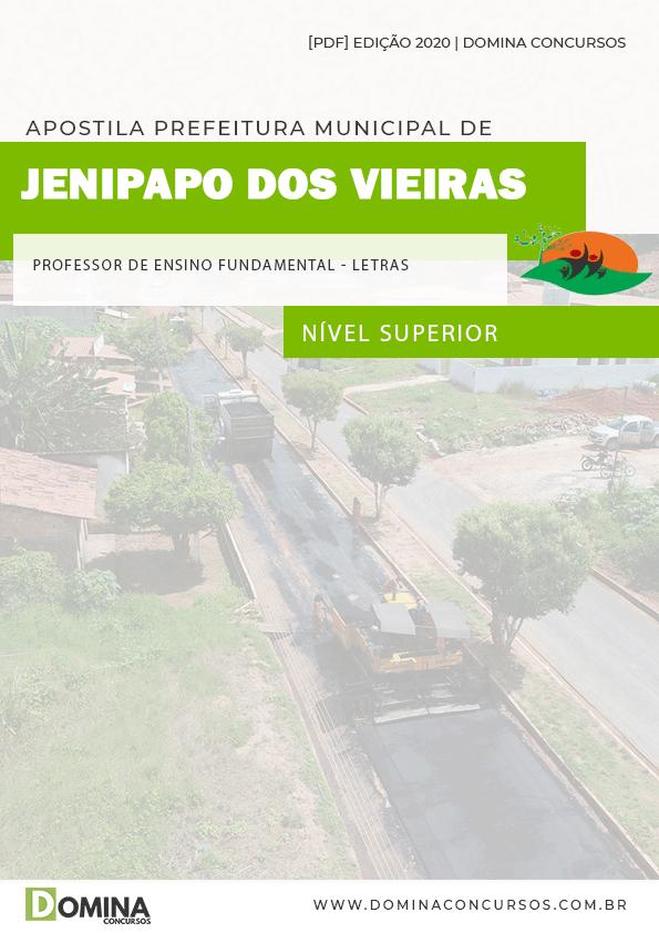 Apostila Pref Jenipapo Vieiras MA 2020 Prof Fundamental Letras