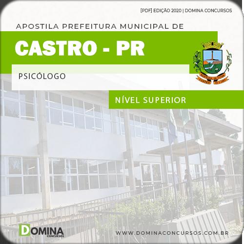 Apostila Concurso Prefeitura Castro PR 2020 Psicólogo