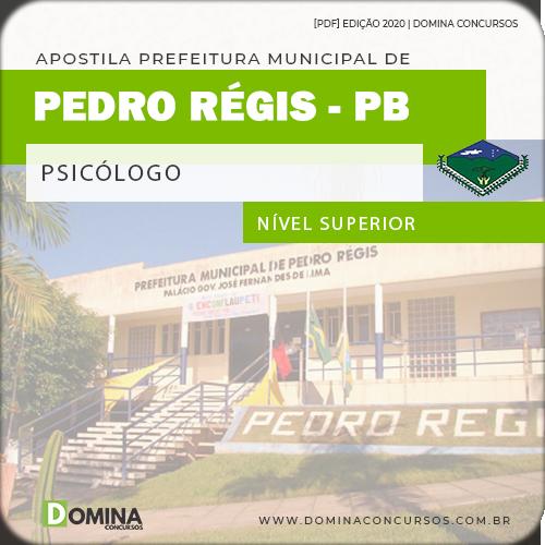 Apostila Concurso Pref Pedro Régis PB 2020 Psicólogo