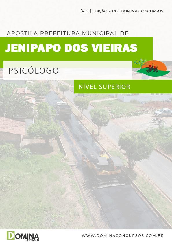 Apostila Pref Jenipapo Vieiras MA 2020 Psicólogo