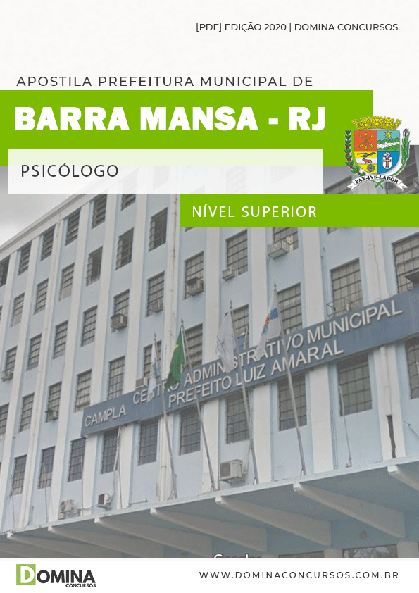 Apostila Concurso Prefeitura Barra Mansa RJ 2020 Psicólogo