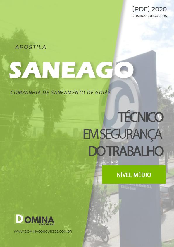 Apostila Saneago 2020 Técnico em Segurança do Trabalho