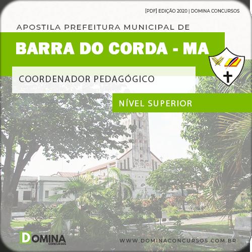 Apostila Pref Barra do Corda MA 2020 Coordenador Pedagógico