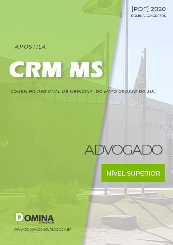 Apostila Concurso Público CRM MS 2020 Advogado