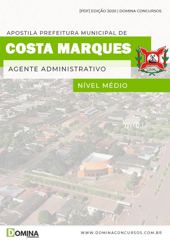 Apostila Pref Costa Marques 2020 Agente Administrativo