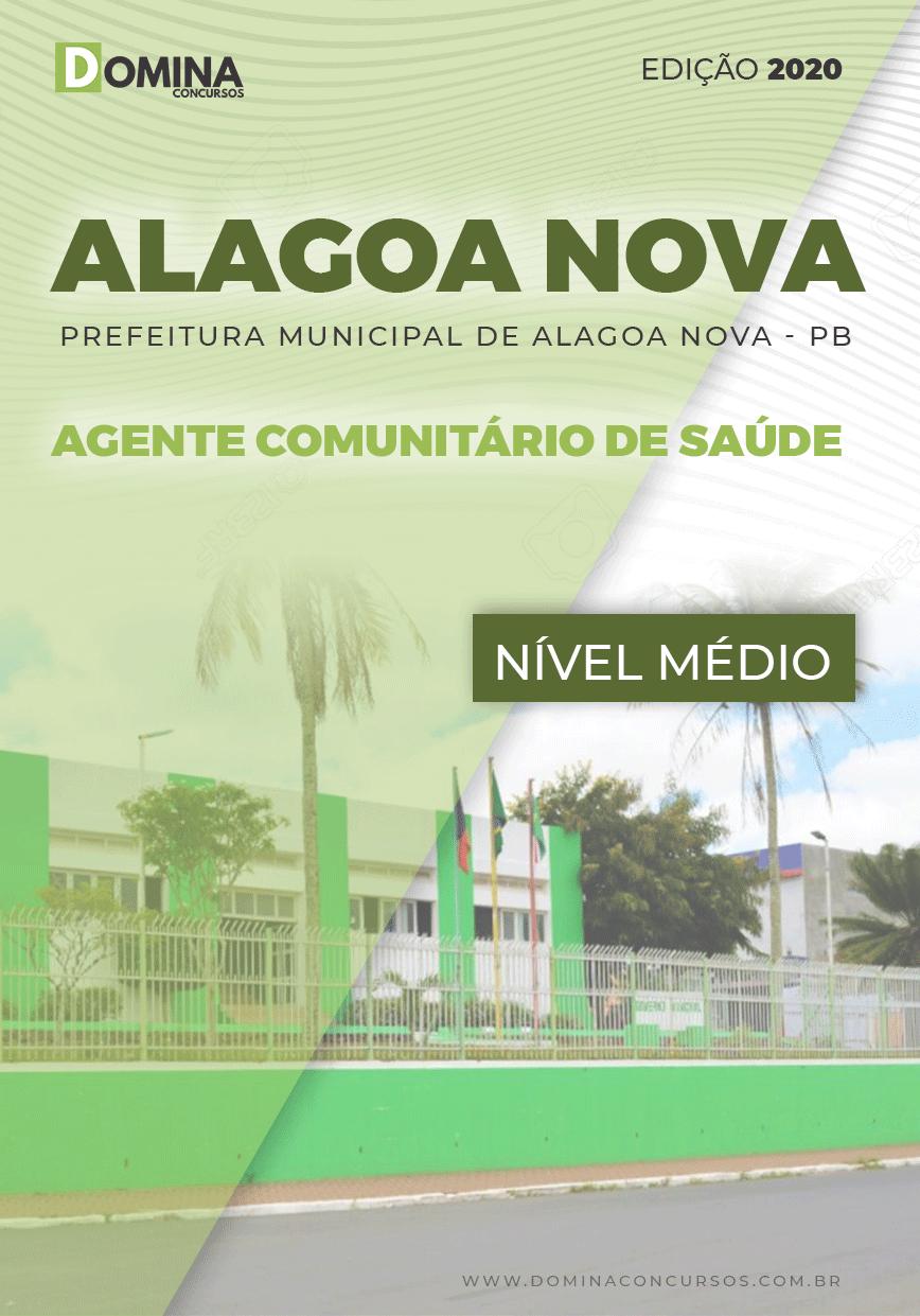 Apostila Alagoa Nova PB 2020 Agente Comunitário Saúde