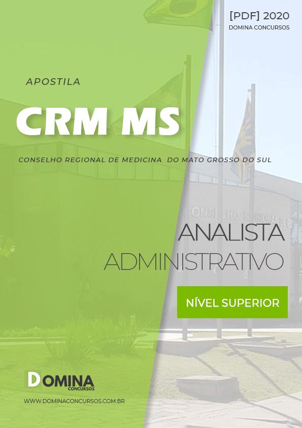 Apostila Concurso Público CRM MS 2020 Analista Administrativo