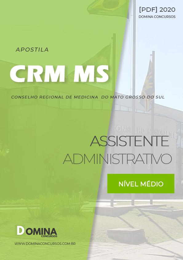Apostila Concurso Público CRM MS 2020 Assistente Administrativo