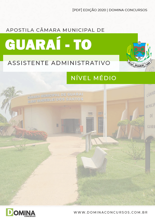 Apostila Concurso Guaraí TO 2020 Assistente Administrativo