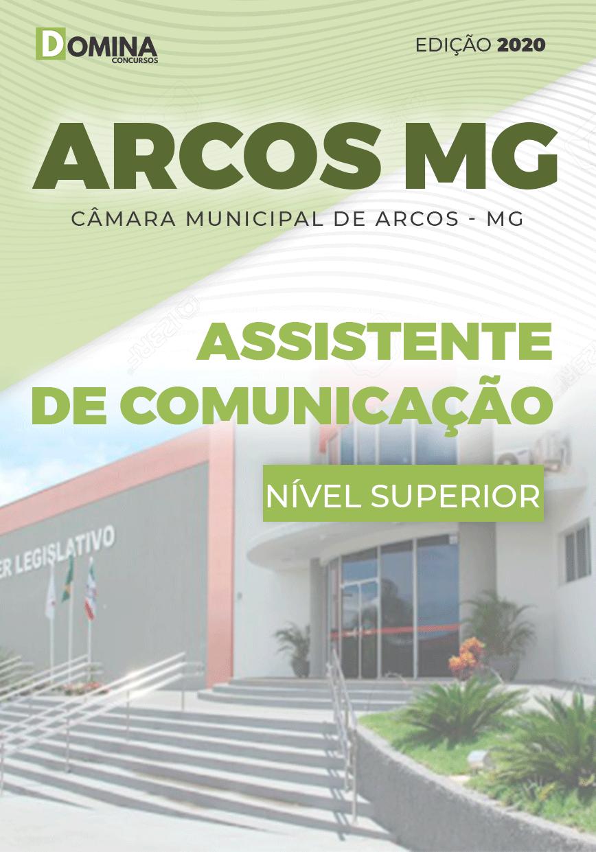 Apostila Câmara Arcos MG 2020 Assistente de Comunicação