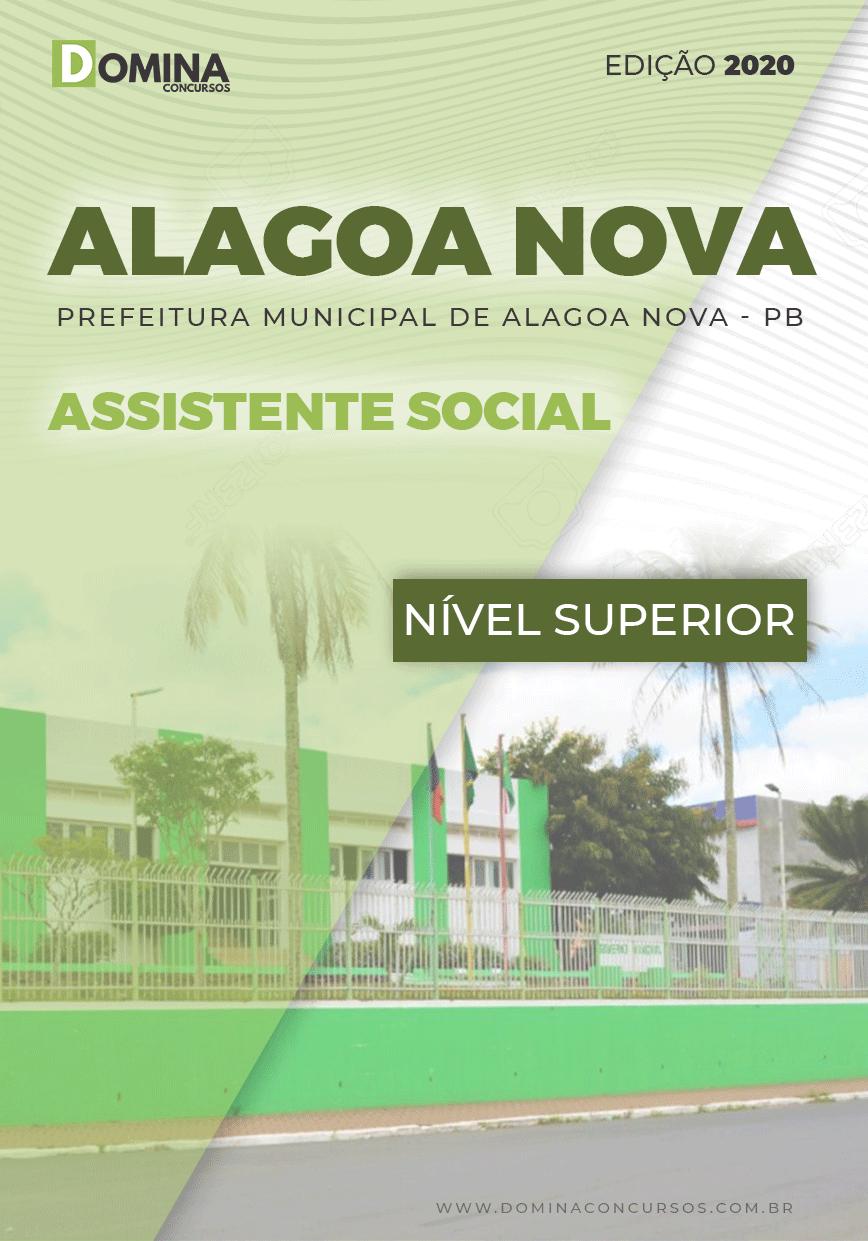 Apostila Concurso Alagoa Nova PB 2020 Assistente Social
