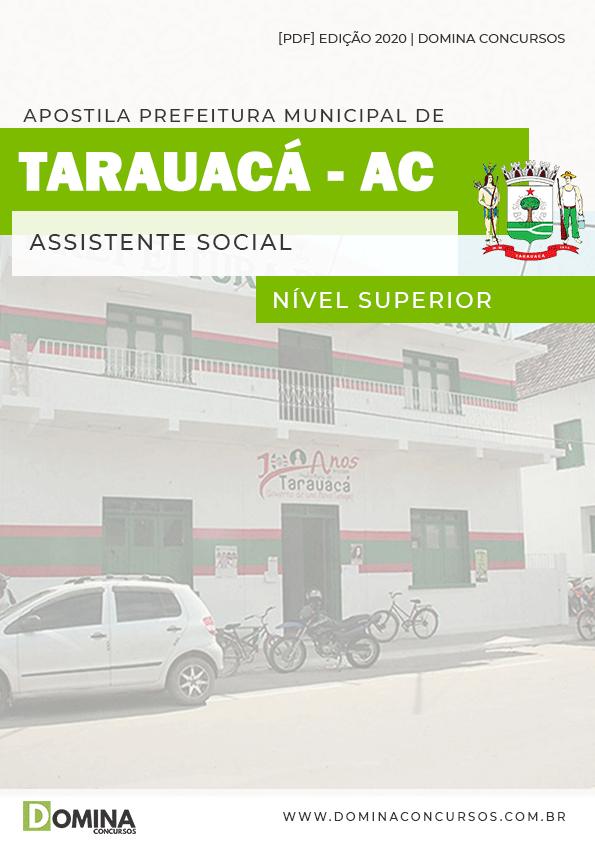 Apostila Concurso Pref Tarauacá AC 2020 Assistente Social