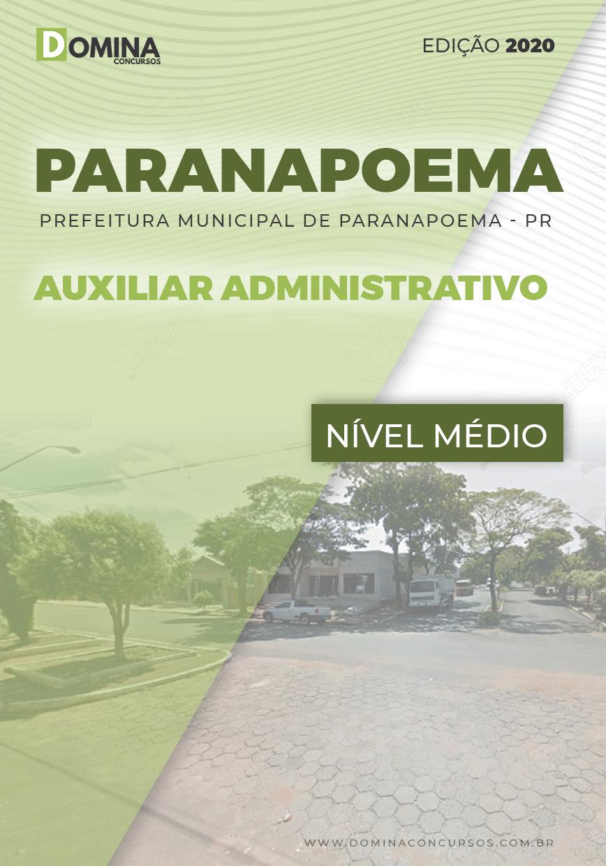Apostila Pref Paranapoema PR 2020 Auxiliar Administrativo