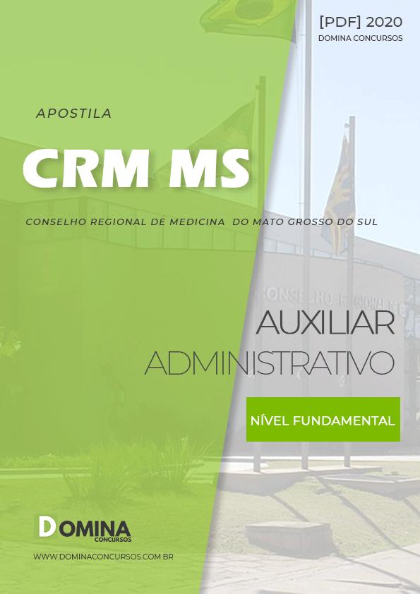 Apostila Concurso CRM MS 2020 Auxiliar Administrativo