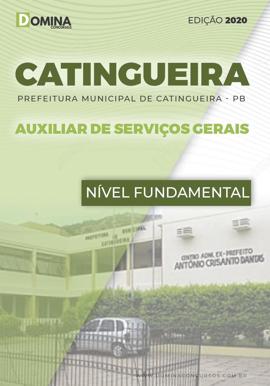 Apostila Concurso Catingueira 2020 Auxiliar Serviços Gerais
