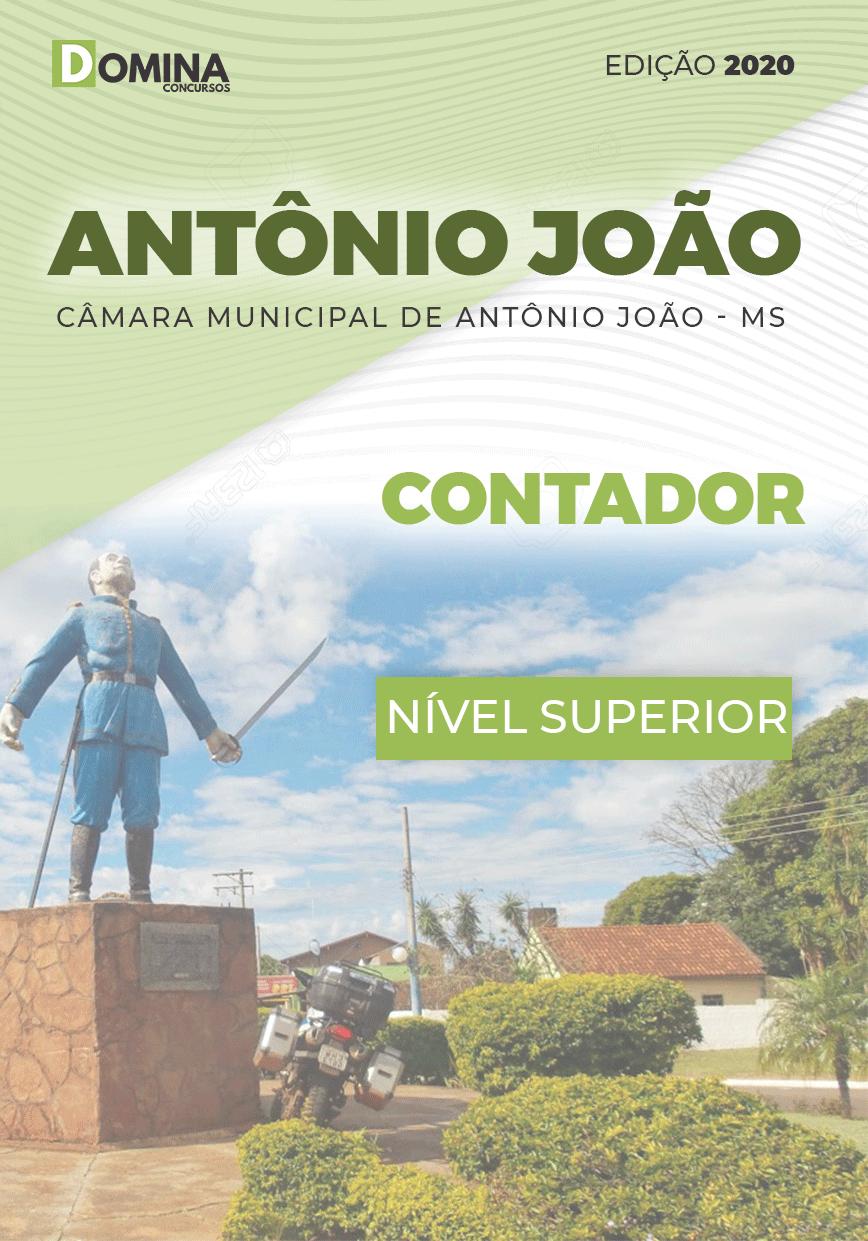 Apostila Câmara Antônio João MS 2020 Contador
