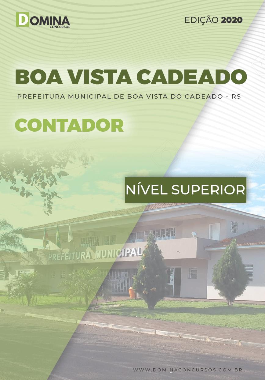 Apostila Boa Vista do Cadeado RS 2020 Contador
