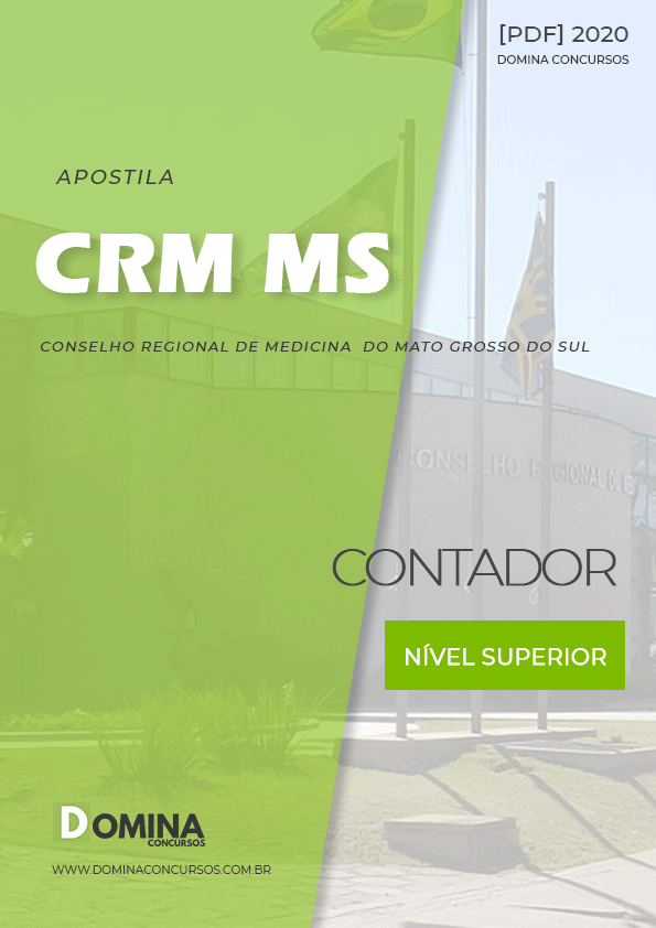 Apostila Concurso Público CRM MS 2020 Contador
